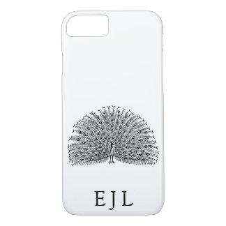 Funda Para iPhone 8/7 Iniciales minimalistas del personalizado del