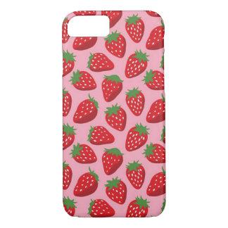 Funda Para iPhone 8/7 Iphone 7/8 apenas allí caso, rosa de las fresas