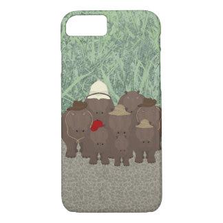 Funda Para iPhone 8/7 iPhone 8/7, caja de Apple de los hipopótamos del
