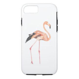 Funda Para iPhone 8/7 iPhone 8/7, caja dura del polígono del flamenco
