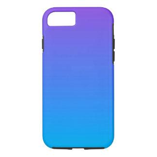 Funda Para iPhone 8/7 iPhone azul y púrpura de Ombre 8/7 caja del
