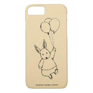 Funda Para iPhone 8/7 iPhone de Apple del globo del conejo de Bimumonji