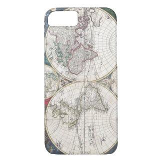 Funda Para iPhone 8/7 iPhone del globo de la tierra del mapa del mundo