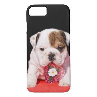 Funda Para iPhone 8/7 Iphone del perrito del dogo de la tarjeta del día