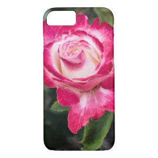 Funda Para iPhone 8/7 iPhone del rosa rosado y blanco/caja de la