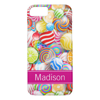 Funda Para iPhone 8/7 iPhone moderno de la casamata del caramelo