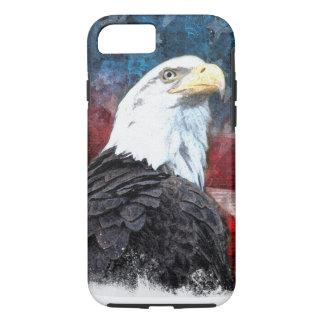 Funda Para iPhone 8/7 iPhone patriótico 7 Shell con Eagle calvo y Ameri