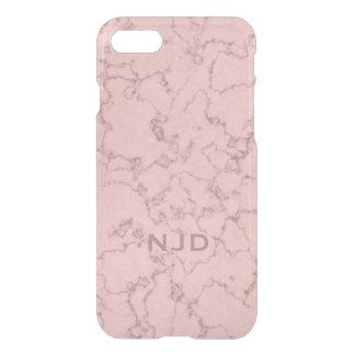Funda Para iPhone 8/7 iPhone personalizado mármol rosado 7 del cuarzo