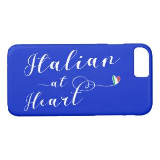 Funda Para iPhone 8/7 Italiano en la caja del teléfono móvil del corazón