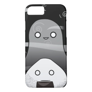 Funda Para iPhone 8/7 Japonés Manga Onigiri de Halloween