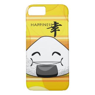 Funda Para iPhone 8/7 Japonés Manga Onigiri de la felicidad