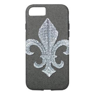 Funda Para iPhone 8/7 Joya de piedra de Flor New Orleans de la flor de