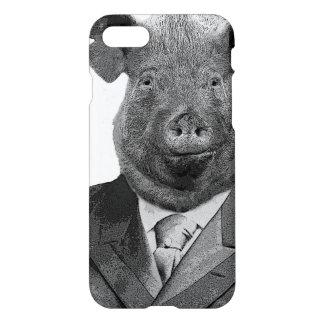 Funda Para iPhone 8/7 Juego que lleva del cerdo antropomorfo -