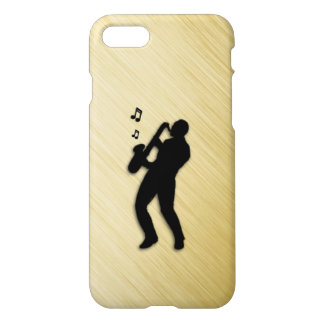 Funda Para iPhone 8/7 Jugador de saxofón