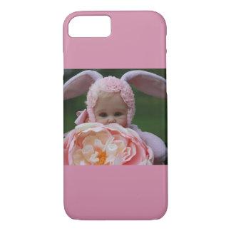 Funda Para iPhone 8/7 Juguete de la muñeca del conejito con la caja del