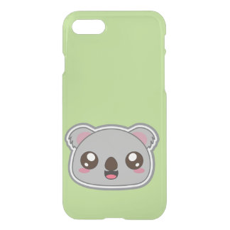 Funda Para iPhone 8/7 Kawaii, diversión e iphone divertido de la koala
