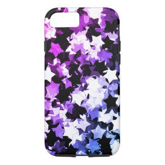 Funda Para iPhone 8/7 Kawaii púrpura de neón protagoniza la noche de