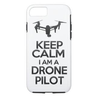 Funda Para iPhone 8/7 Keep Calm I Am Drone Pilot