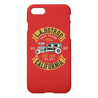 Funda Para iPhone 8/7 L.A. Caja brillante del teléfono de HotRod
