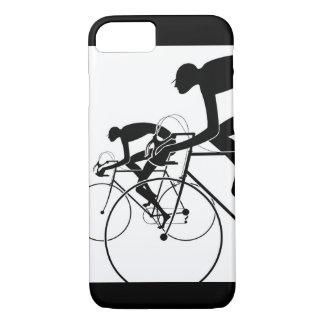 Funda Para iPhone 8/7 La bicicleta retra siluetea 2 1986