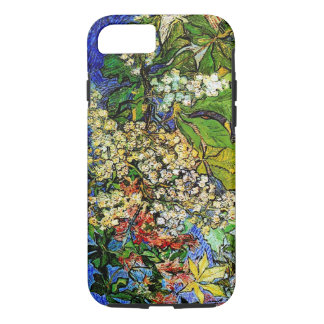 Funda Para iPhone 8/7 La castaña floreciente ramifica bella arte de Van