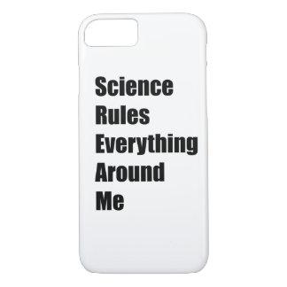 Funda Para iPhone 8/7 La ciencia gobierna todo alrededor de mí