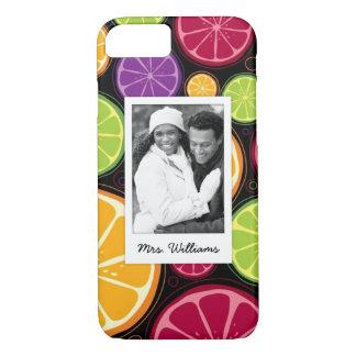 Funda Para iPhone 8/7 La fruta cítrica coloreada multi el | añade su