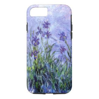 Funda Para iPhone 8/7 La lila de Monet irisa la caja dura del iPhone