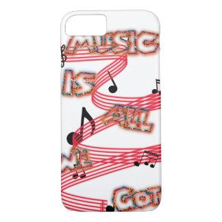 Funda Para iPhone 8/7 La música es toda lo que conseguimos el caso
