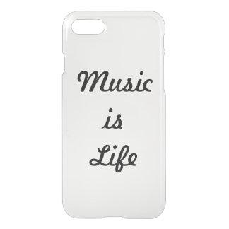 Funda Para iPhone 8/7 La música es vida
