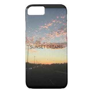 Funda Para iPhone 8/7 La puesta del sol soña la caja del teléfono