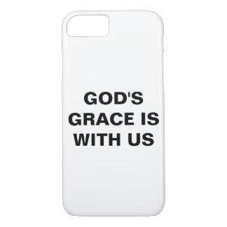 """Funda Para iPhone 8/7 La """"tolerancia de dios es con nosotros"""" iPhone de"""