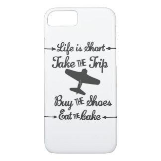 Funda Para iPhone 8/7 La vida es corta