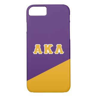 Funda Para iPhone 8/7 Letras alfa del Griego de la lambda el | de Kappa
