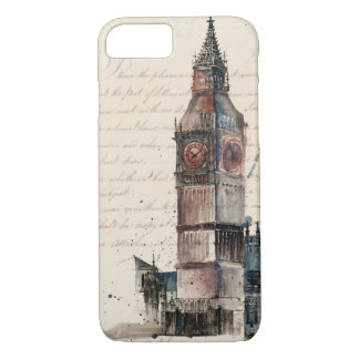 Funda Para iPhone 8/7 Letras de Big Ben