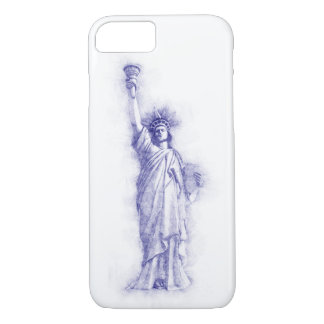 Funda Para iPhone 8/7 Liberty, Nueva York, Manhattan, EE.UU., América