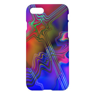 Funda Para iPhone 8/7 Línea colorida abstracta modelo