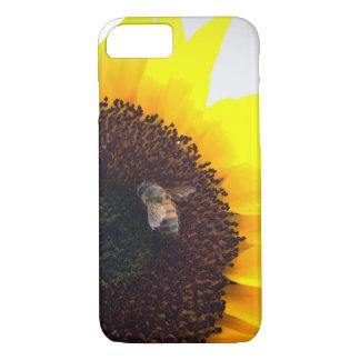 Funda Para iPhone 8/7 Llamadas de la abeja del girasol