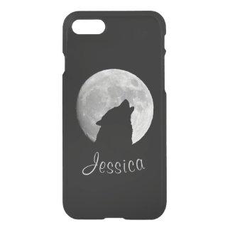 Funda Para iPhone 8/7 Lobo que grita en la Luna Llena, su nombre