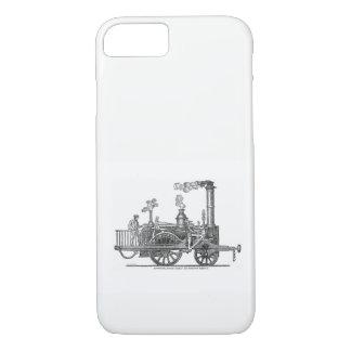 Funda Para iPhone 8/7 Locomotora de vapor temprana
