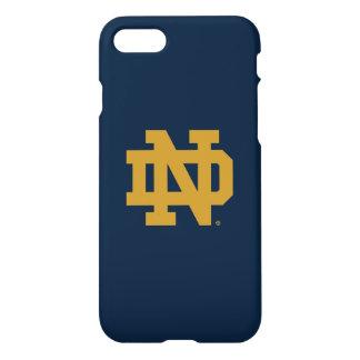 Funda Para iPhone 8/7 Logotipo del emblema de Notre Dame el |