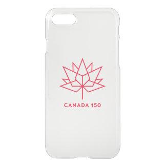Funda Para iPhone 8/7 Logotipo del funcionario de Canadá 150 - esquema
