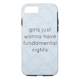 Funda Para iPhone 8/7 los chicas apenas quieren tener teléfono cas de