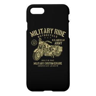Funda Para iPhone 8/7 Los militares montan la caja brillante del