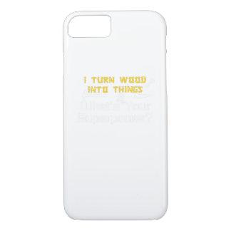 Funda Para iPhone 8/7 Madera en cosas cuál es su carpintero de la