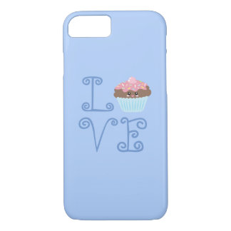 Funda Para iPhone 8/7 Magdalena dulce colorida femenina linda del amor
