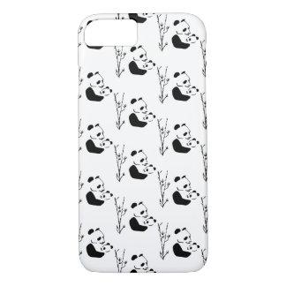 Funda Para iPhone 8/7 MAMÁ PANDA dulce, linda y adorable