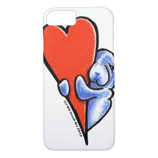 Funda Para iPhone 8/7 Manatees del amor