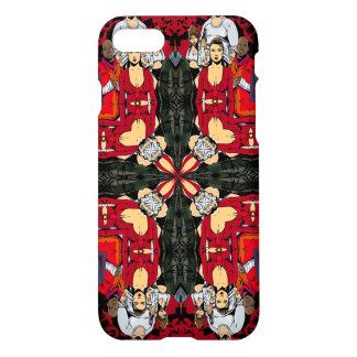 Funda Para iPhone 8/7 Mandala vieja triple de la guerra de Gangsta