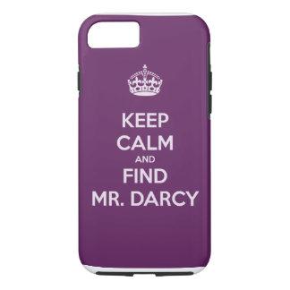 Funda Para iPhone 8/7 Mantenga Sr. tranquilo y del hallazgo Darcy Jane